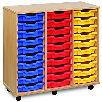 30 Tray Shallow Storage Unit £272 -