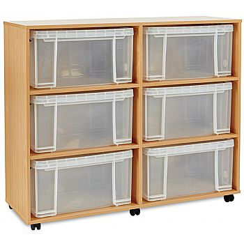 Really Useful Box Combination Storage Unit 6 x 48L £199 -