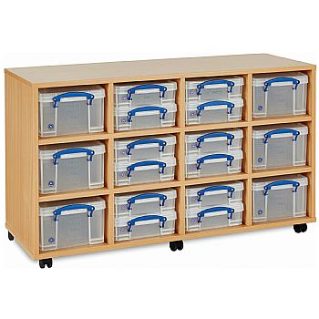 Really Useful Box Combination Storage Unit 12 x 4L / 6 x 9L £199 -