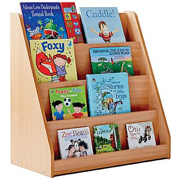 Library Unit With 4 Tiered Fixed Shelves £152 -