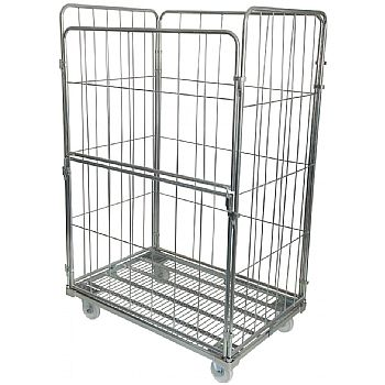 Palletower 4 Sided Jumbo Demountable Roll Pallets (With Half Drop Down Gate) £225 -