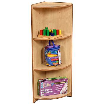 Maple Modular Book Box Corner Unit £114 -