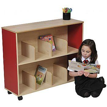 Small Children's Bookcase - Red £169 -