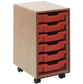 Essentials Mobile 6 Tray Storage Units
