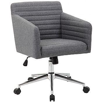 Harris Fabric Swivel Chair £109 -