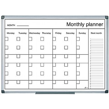 Bi-Office Monthly Planner
