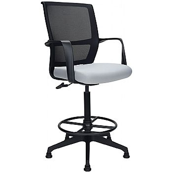 Orbit Mesh Back Draughtsmans Chairs £130 -