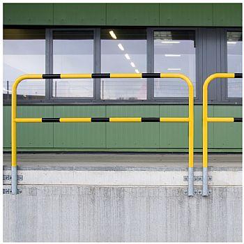 TRAFFIC-LINE Medium Duty Wall Fixed Steel Hoop Guards £183 -