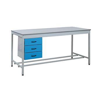 Taurus Utility Workbench With Three Drawer Pedestal £728 -