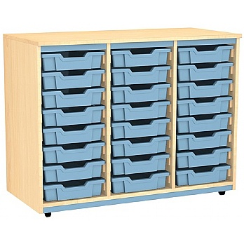 Splash Triple Column 24 Tray Storage Unit £240 -