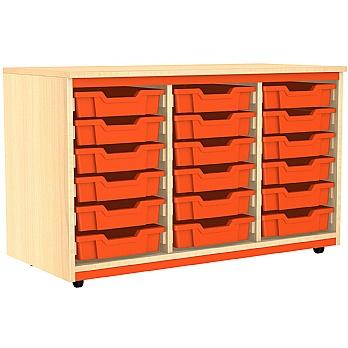 Splash Triple Column 18 Tray Storage Unit £205 -