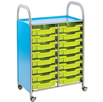 Gratnells Callero 16 Shallow Tray 2 Column Storage Unit £174 -
