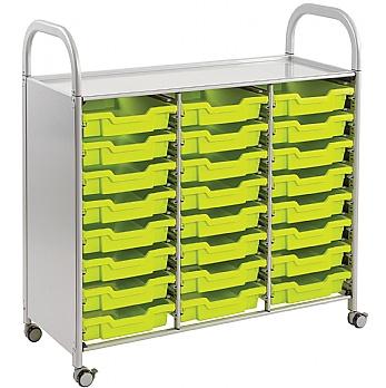 Gratnells Callero 24 Shallow Tray 3 Column Storage Unit £222 -
