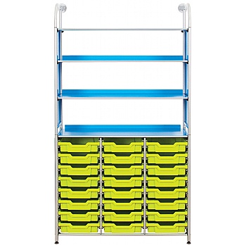 Gratnells Callero Combination Storage Unit With Shallow Trays £810 -