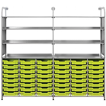 Gratnells Callero 48 Shallow Tray Combination Storage Unit £810 -