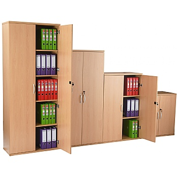 NEXT DAY Karbon Wooden Office Cupboards £101 -