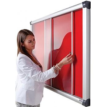 Eco-Sound Acrylic Sliding Door Tamperproof Blazemaster Noticeboards £266 -