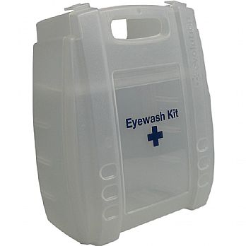 Clear Eyewash & First Aid Cases - Empty £8 -