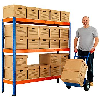 BiG400 Archive Storage Bay With Standard Boxes £189 -