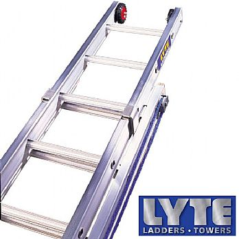 Lyte Industrial Heavy Duty Rope Operated Extension Ladders £295 -