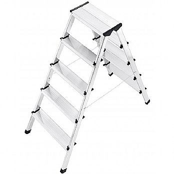 Hailo L90 Double Sided Aluminium Safety Ladders £82 -