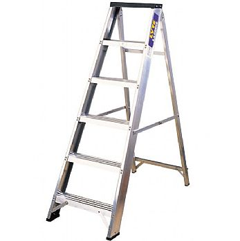 Lyte Industrial Swingback Aluminium Step Ladders £66 -