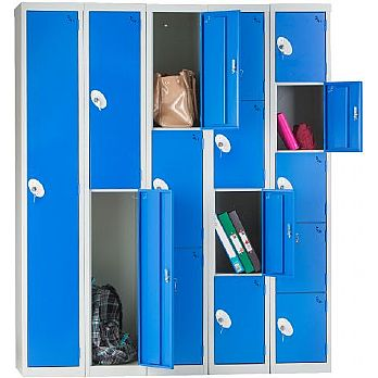 Fully Welded Compartment Lockers £68 -