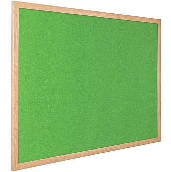 Eco-Colour Light Oak Noticeboards £42 -