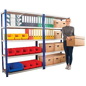 Quick Assembly Medium Duty Shelving £68 -
