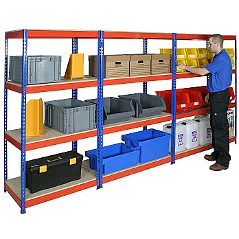 Heavy Duty Rivet Shelving £79 -