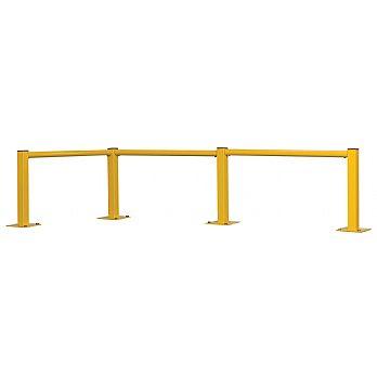 Single Rail Round Tube Modular Barriers £21 -
