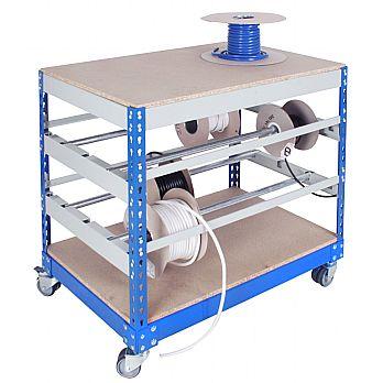 Mobile Bench Reel Storage Organiser £219 -
