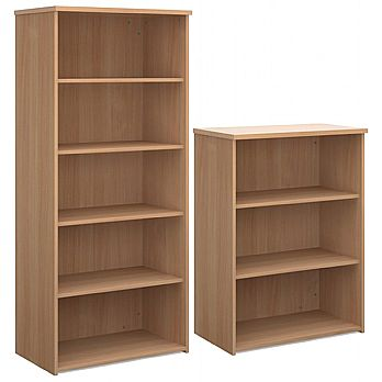 Everyday Large Volume Wooden Bookcases £197 -