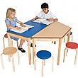 Rectangular Classroom Grouping Table