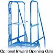 Optional Inward Opening Gate