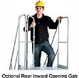 Rear Inward Opening Gate