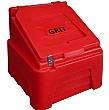Red 200L Grit Bin