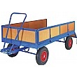 Turntable Trailer with Box Body