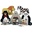 Novelty Single Sided Animal Bookcases