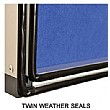 WeatherShield Outdoor Signs Twin Seal