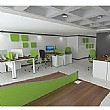 Presence Executive Rectangular Desk Screens