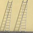 Hailo ProfiStep Duo Aluminium Extension Ladder