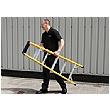 Trade Fibreglass Swingback Step Ladders