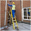 Lyte Heavy Duty Trade Glassfibre Swingback Step Ladders