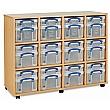 Really Useful Box Combination Storage Unit 12 X 4L / 12 X 9L