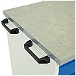 Bott Verso Mobile Roller Cabinets 800W - 5 Drawers