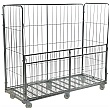Palletower 4 Sided Super Jumbo Demountable Roll Pallets (With Half Drop Down Gate)