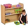 Maple 3 Shelf Bookcase