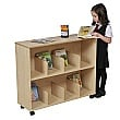 Small Children's Bookcase - Maple