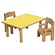 Height Adjustable Rectangular Writing Table